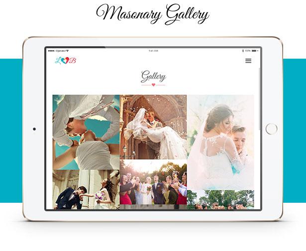 Lovebirds - Responsive Wedding HTML Template - 5