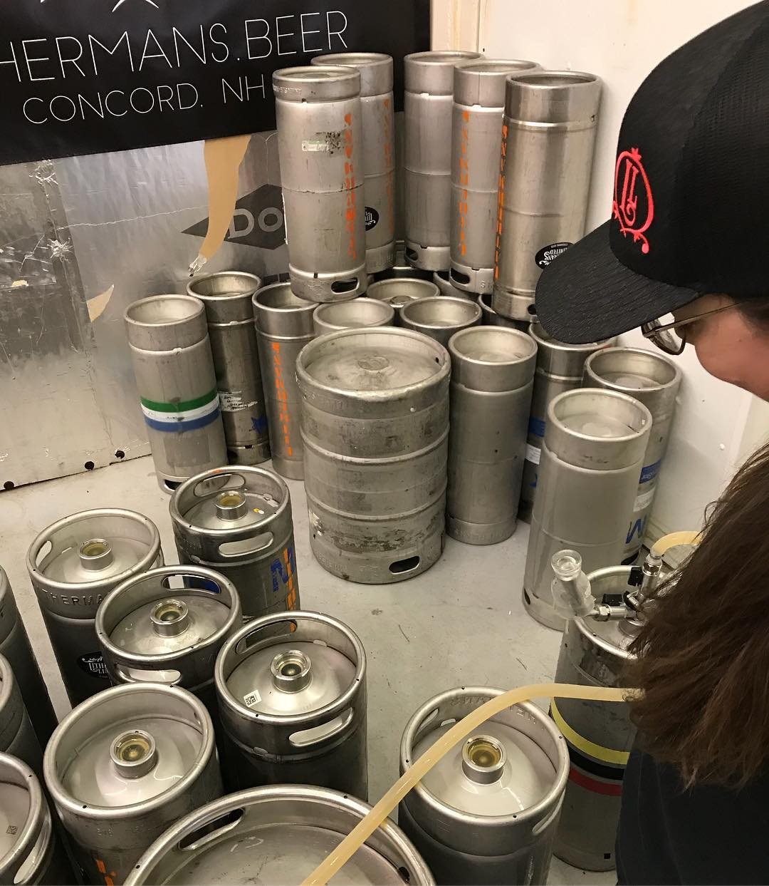 Fresh batch of Misguided Angel going into kegs today. Be on the look out for it in draft in the Concord area!