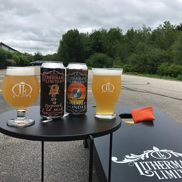 We are starting this Friday with 12 beers on tap including the release of our collaboration with Backyard Brewery, The Pear Necessities. Tasting room is open Friday from 4-8pm! #lithermanslimited #backyardbrewerynh