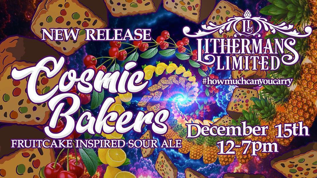 Just a few weeks away! #lithermanslimited #sourbeer #fruitcakes