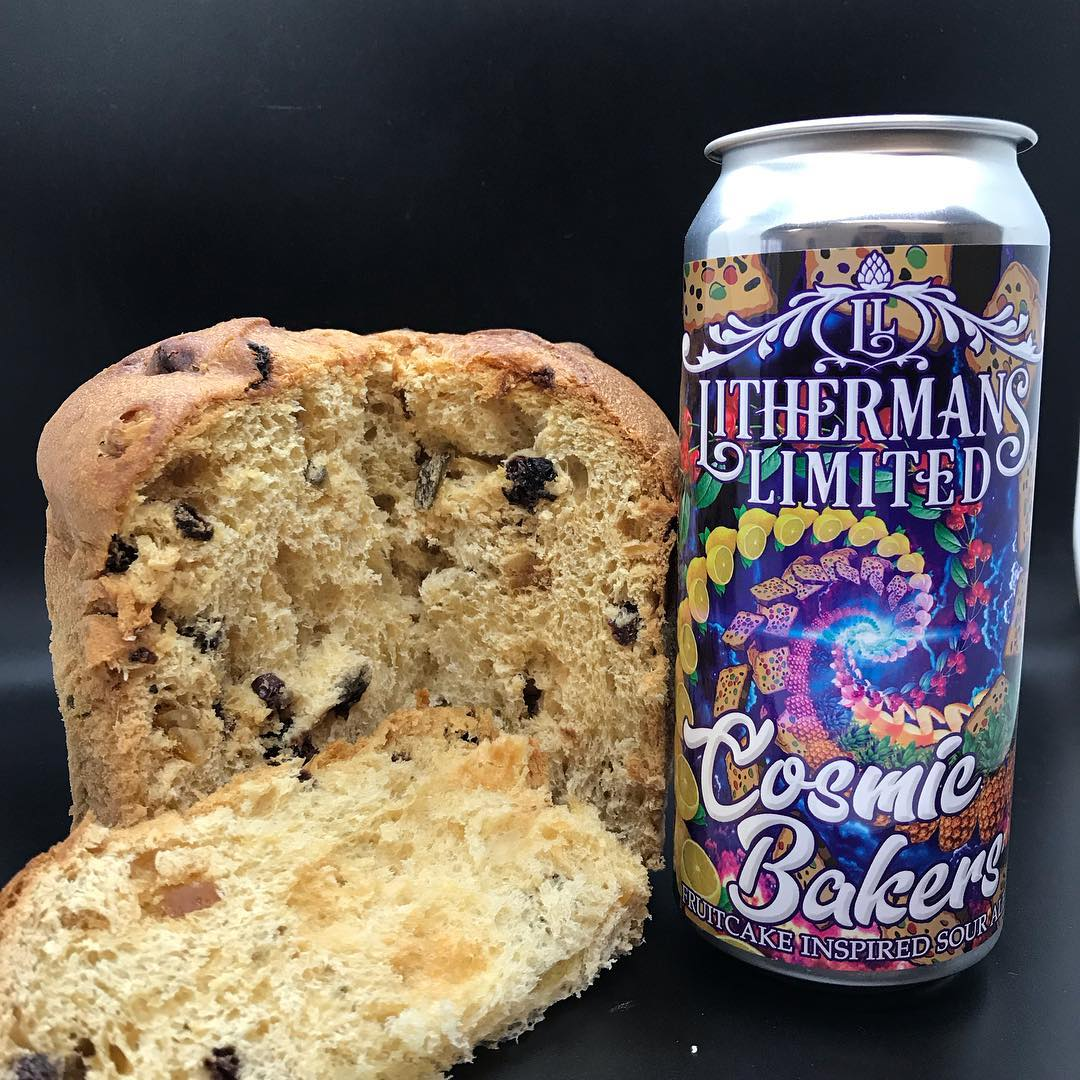 We are gearing up for Saturday's Can Release of  our Fruit Cake Sour Ale Cosmic Bakers. Tap Room will be open from 12-7 and we will be hosting our friends the Food Truck Lady who will be serving up some great food. #sourbeer #foodtrucks #nhbrewers