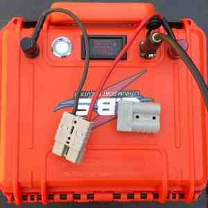 Esox 60 12V 60Ah litiumbatteri