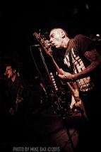 Anti-Flag - Bovine Sex Club, Toronto - June 4th, 2015 - photo by Mike Bax