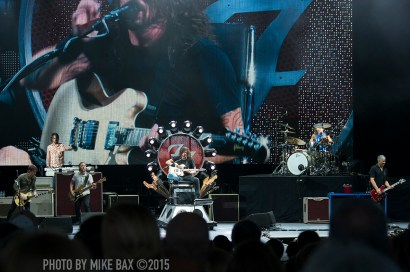 Foo Fighters Molson Canadian Amphitheatre, Toronto - July 8th, 2015 photo by Mike Bax