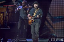 Zac Brown Band perfoming at Molson Amphitheatre in Toronto