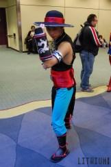 Toronto ComiCon 2016 Kung Lao from Mortal Kombat