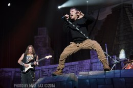 Iron Maiden - Air Canada Centre, Toronto - April 3rd, 2016 - photo by Mike Bax