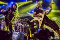 Anthrax at Torontos' Sound Academy