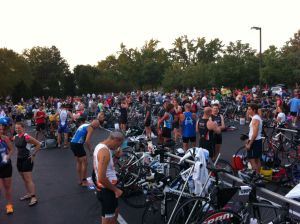 Transition area at Lake St. Louis