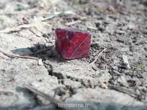 Cristal de Spinelle rouge