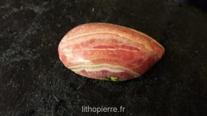 Rhodocrosite em pierre semi roulée