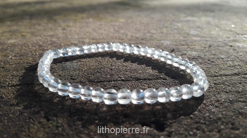 Bracelet en cristal de roche