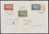 fake Lithuania cover Raritan 59 auction Dec 2013