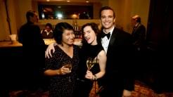 Jamie Tan, Maggie Thrash and friend