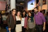 Nathan Rostron, Kristen Radtke, Mira Jacob, Hafizah Geter, and Paul Morris