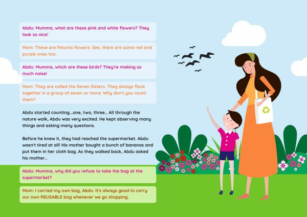 Story for kids about environment, nature and pollution
