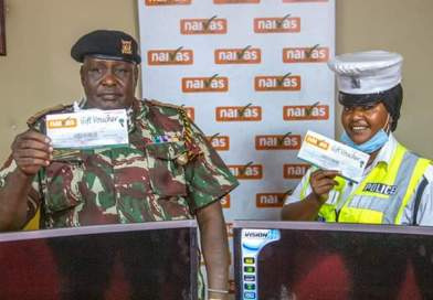 Naivas Supermarket Awards Two Kind-Hearted Police Officers