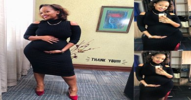 Curvaceous TV Host Grace Msalame Shares Cute Video of Blossoming Baby Bump