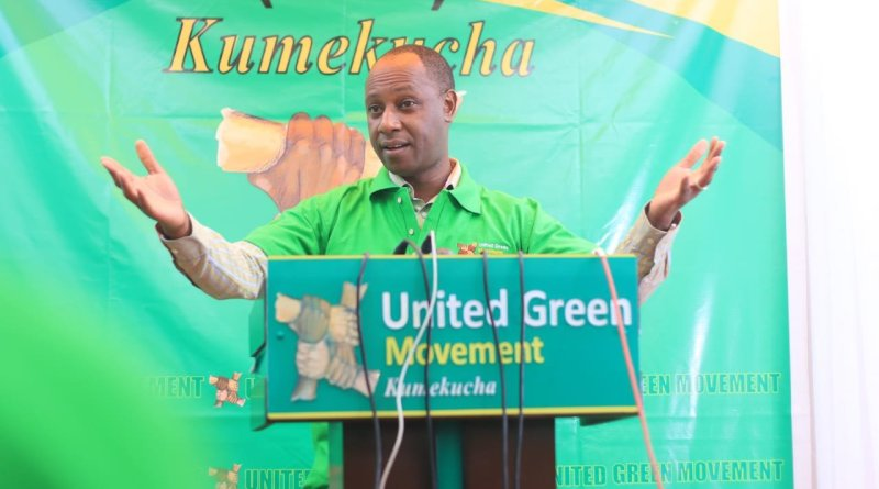 Ex-Nairobi Deputy Governor Mueke Joins UGM Party After Ditching Wiper