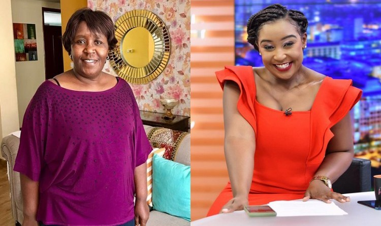 Betty Kyallo's Flashy Special Treat For Her Mother (photos)