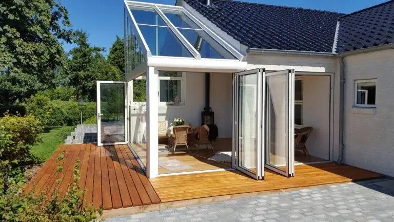 Akzent Plus Glastilbygning fra Solarlux hos Lito Byg