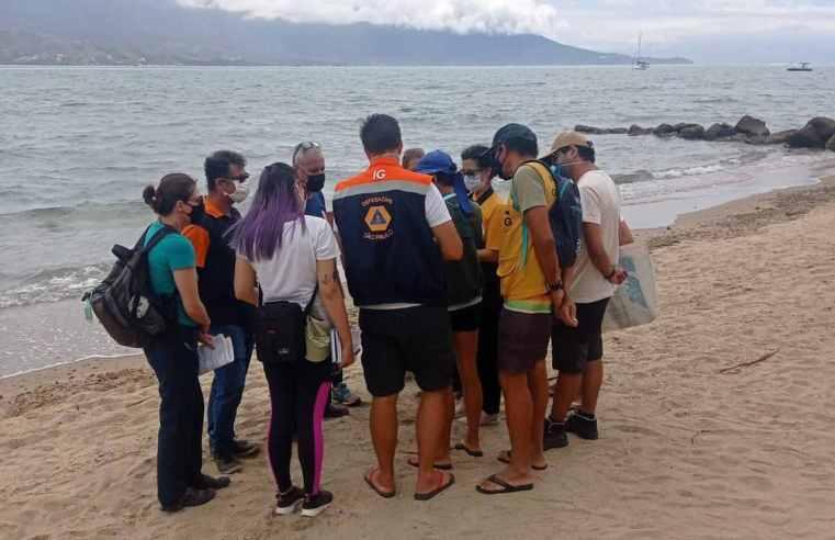 Defesa Civil de Ilhabela recebe capacitação sobre plataforma de comunicação de riscos costeiros