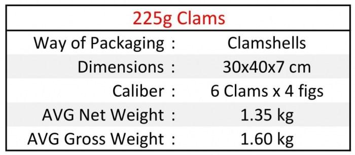 225g Clams EN