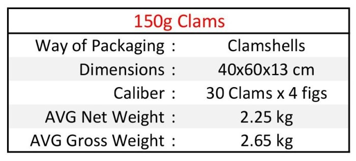 150g Clams EN