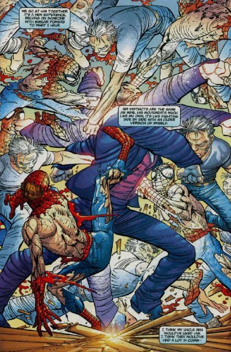 Página de Amazing Spider-Man Vol. 2 #35 por John Romita Jr.