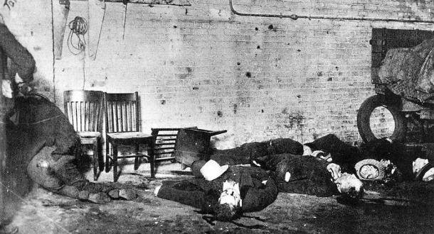 Footnotes The Saint Valentines Day Massacre Love Affair