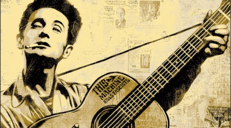 RAMBLIN' RECKLESS HOBO: litquake's woody guthrie tribute