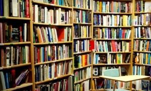 Green Apple Books' Granny Smith room