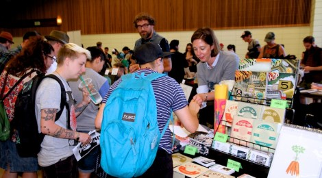 ZINE FEST: a community of writers, artists and makers