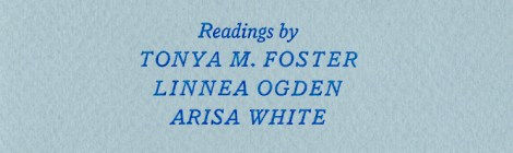 A SENDOFF FOR ARISA WHITE AND THE TAPROOT CHAPBOOK RELEASE OF Perfect on Accident