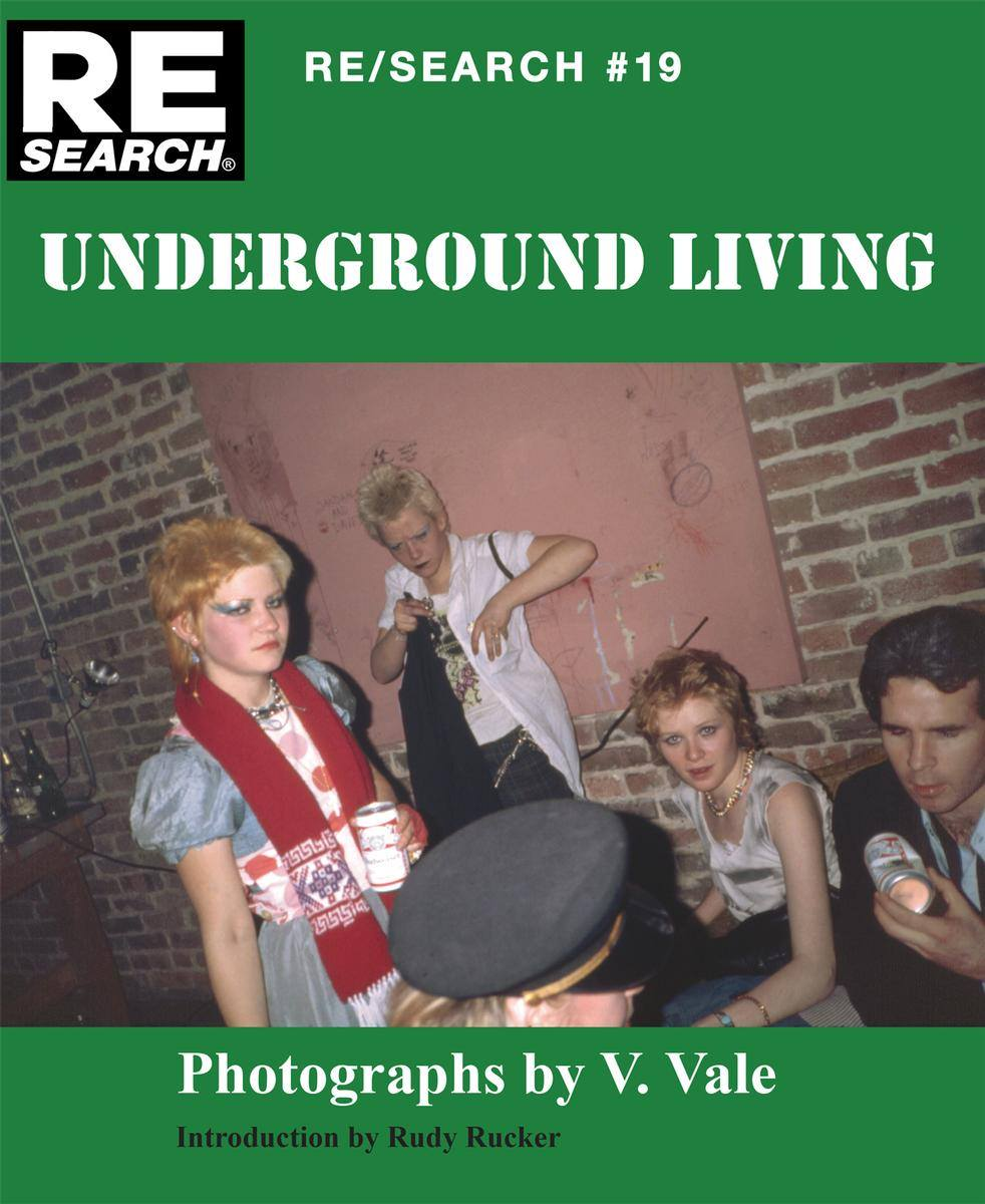 front cover for Underground Living