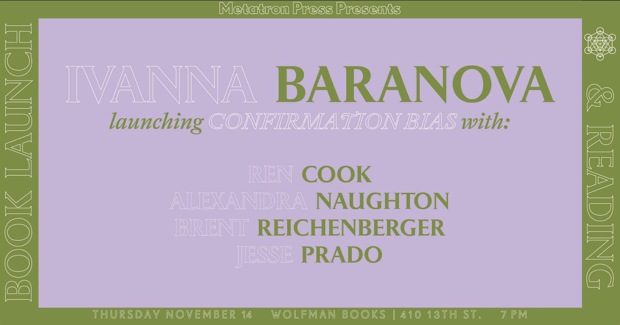 flier for Ivanna Baranova