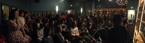 photo from the launch of Mimi Lok's Last of Her Name, held at The Bindery on 10/22/19, by Evan Karp