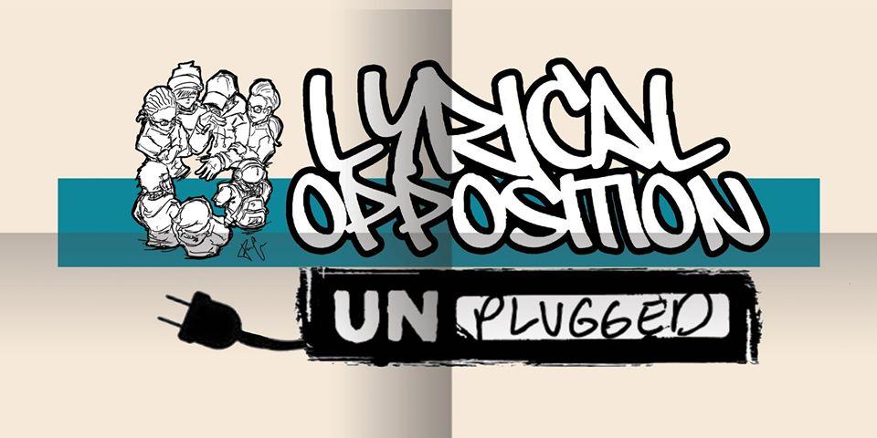 flier for Lyrical Opposition