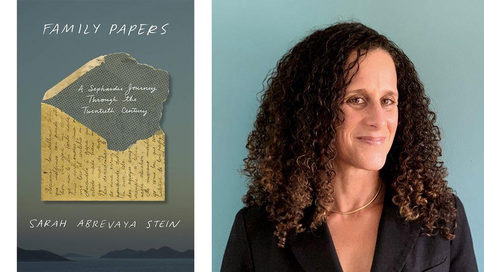 flier for Sarah Abrevaya Stein