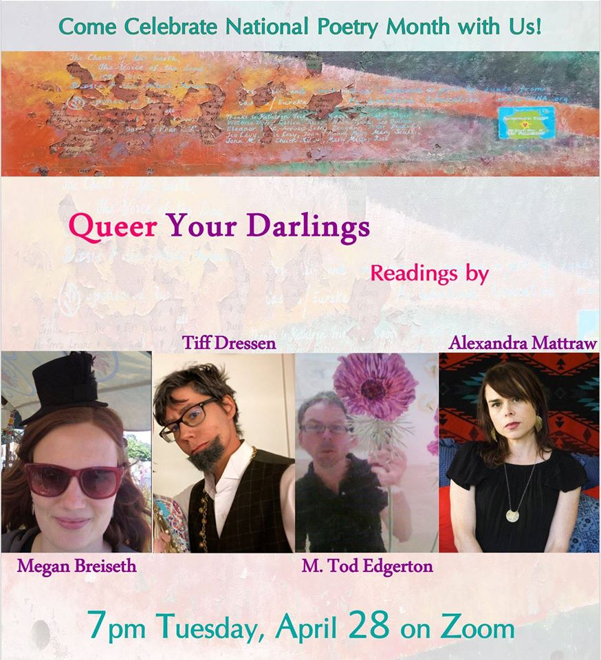 Queer Your Darlings Zoom Reading