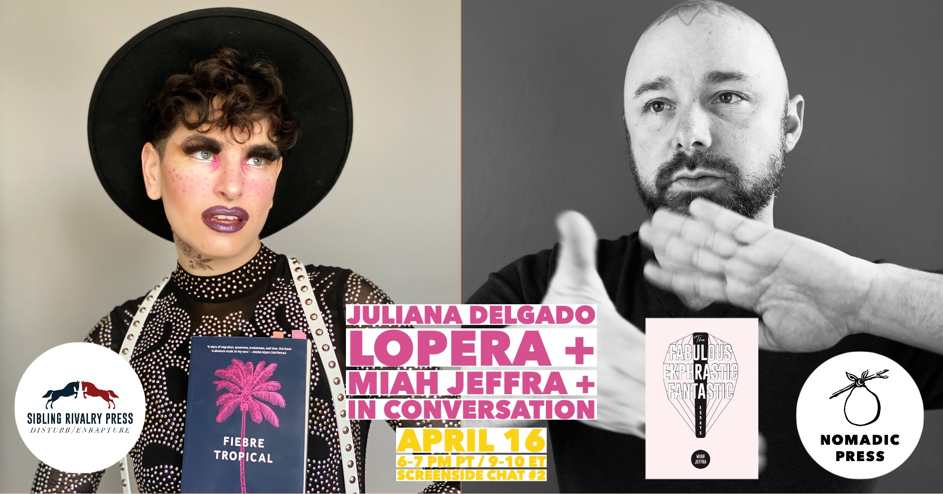Screenside Chat #2- Juliana Delgado Lopera + Miah Jeffra