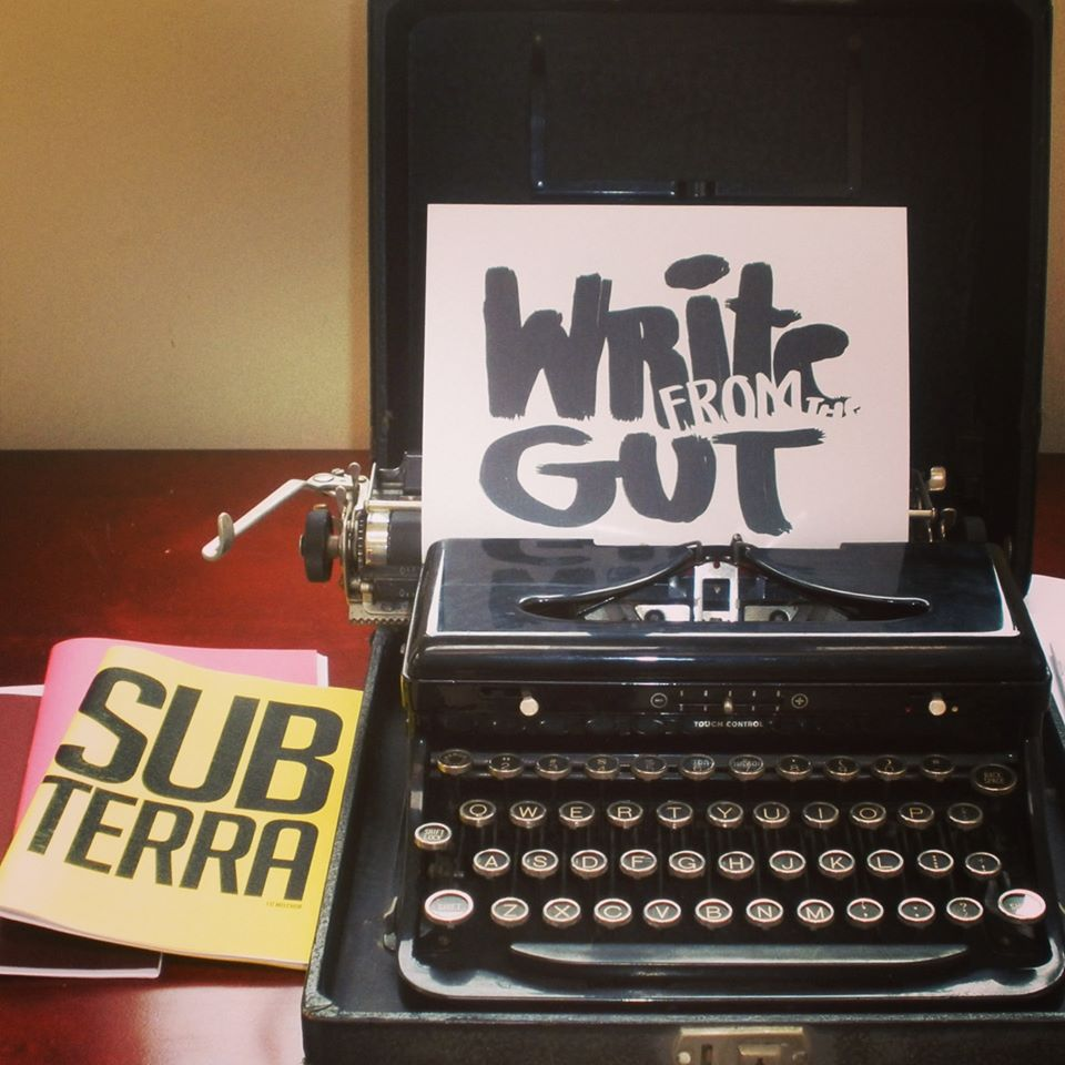 Write from the Gut! Virtual Reading + open mic