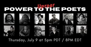 flier for Power to the Poets: Uproar
