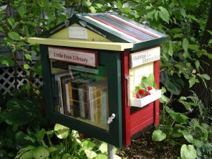 Soundbite: Man Builds Library in His Front Yard