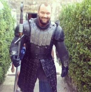 First Look: 'Game Of Thrones' Character, The Mountain