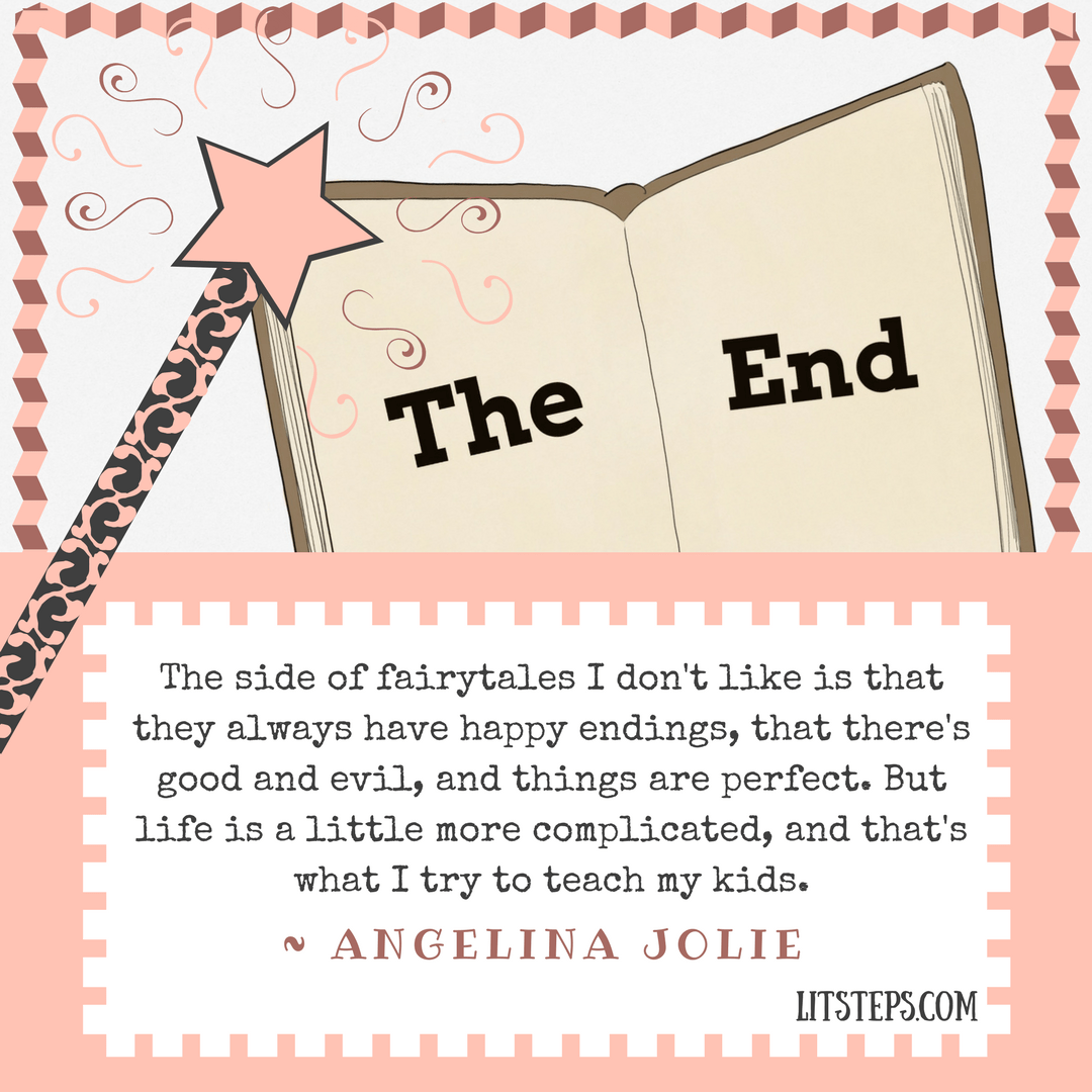 Angelina Jolie quote, early Literacy, reading with child, LitSteps.com
