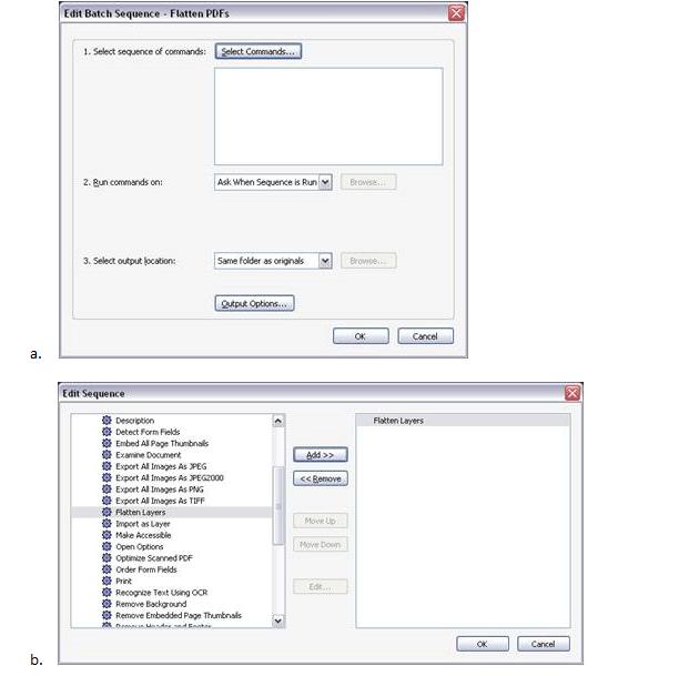 Batch Flatten Layers on Multiple PDF's – LitSupport org