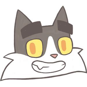 Happy Dad Cat