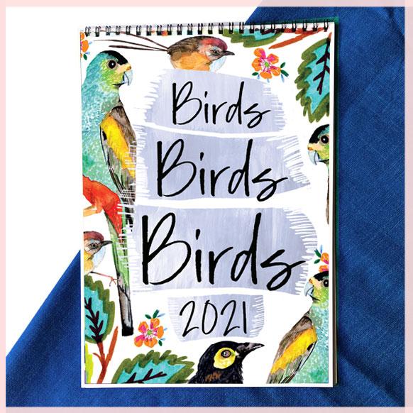 Bird Calendar 2021_LittlCrow (Jimena Garcia)