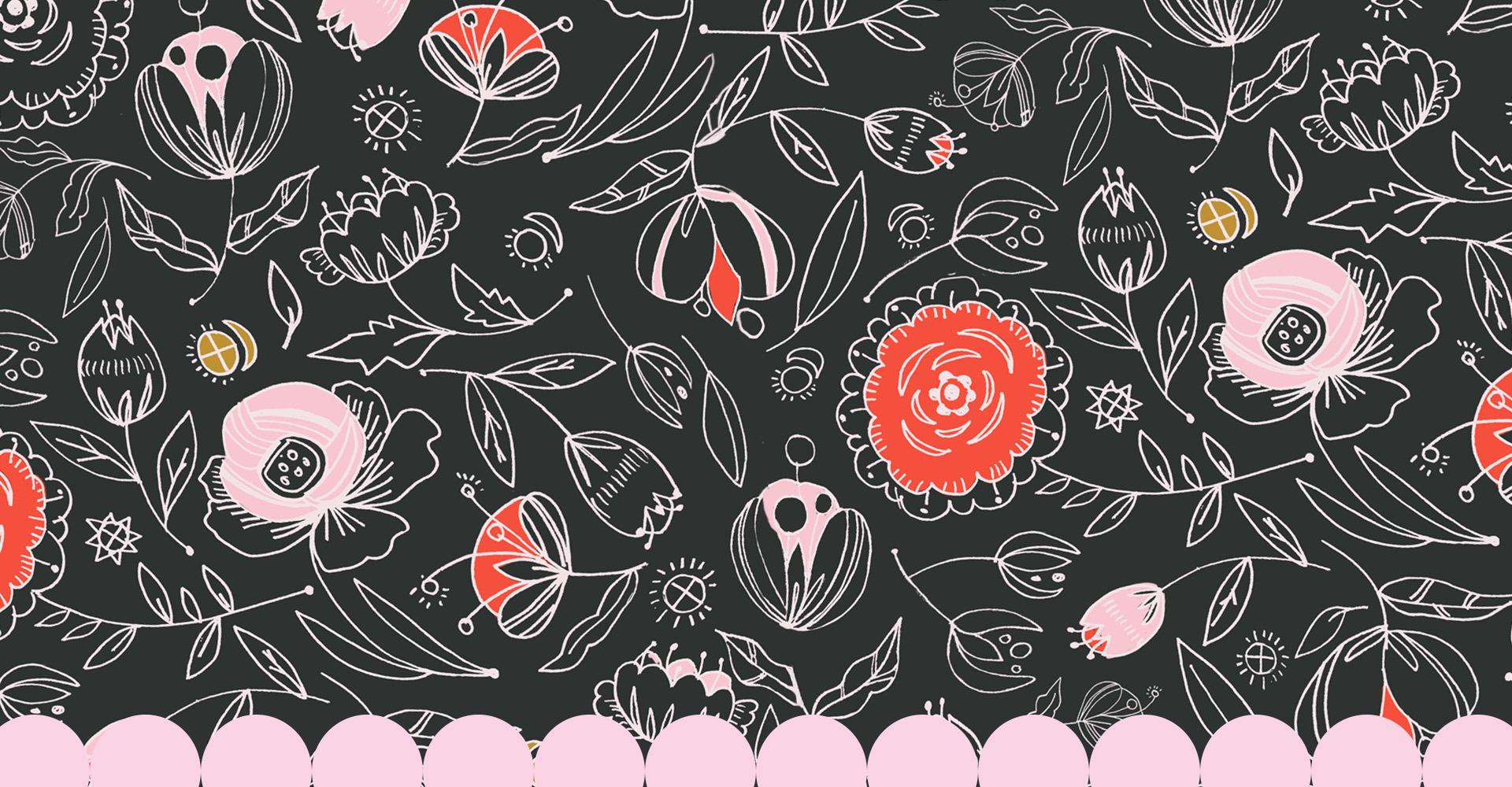 Vector Florals by Jimena Garcia-LittlCrow